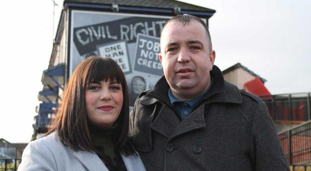 Brian Tierney and wife Cheryl remained defiant after arson attack