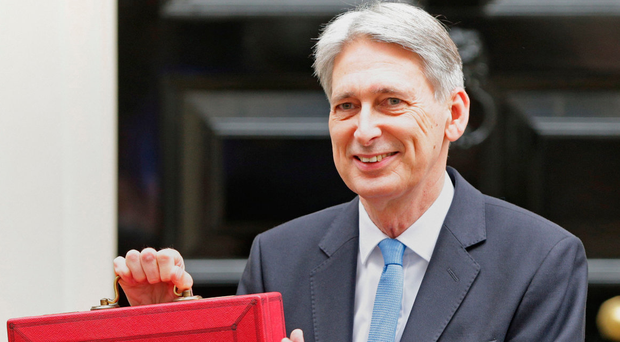 Philip Hammond before delivering his Budget last week