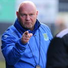 Tough times: Ballymena boss David Jeffrey is having to deal with a raft of injuries to key players