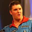 Nice one: Daryl Gurney has helped out his old school