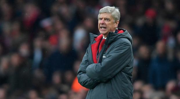 On attack: Arsene Wenger is expecting an exciting game