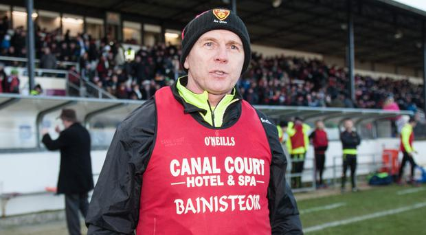 New role: Jim McCorry is hoping to help take Armagh to a new high in 2018 now that he has joined Kieran McGeeney's management team