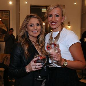 Celebrations for opening of new Harland Bar at Belfast's Titanic Hotel (PressEye)