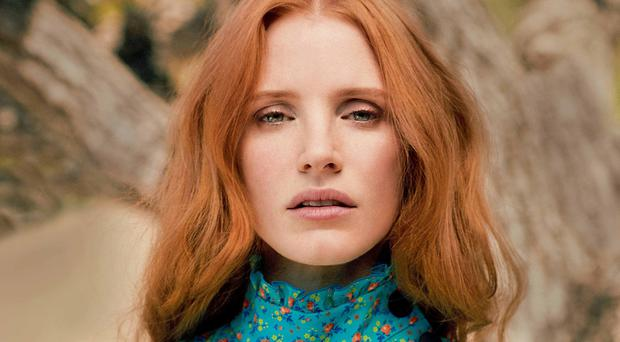 Star quality: Jessica Chastain
