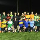 Fun for all: Laochra Loch Lao are aiming to be the first exclusively Irish language club in Belfast with teams for men, women and kids. The men's side are pictured here