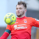 Dungannon Swifts midfielder Ryan Harpur