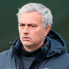Special service: Jose Mourinho has wise words for his players