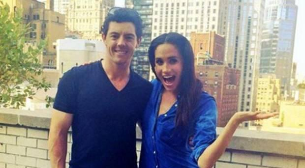 Rory McIlroy and Meghan Markle took part in the 2014 charity fundraiser.