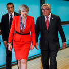Theresa May is holding a crunch meeting in Brussels today with Jean-Claude Juncker