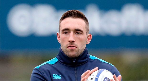 Work to do: Jack Conan is out to show Joe Schmidt he can make an impact in big games