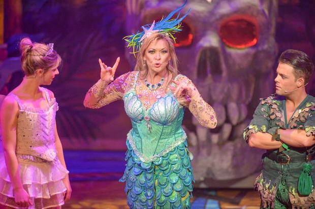 Mimi the Magical Mermaid (Claire King) at the Grand Opera House panto performance of Peter Pan. (Photo by Aaron McCracken)