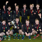 Upper class: Sullivan Upper celebrate their McCullough Cup success against Friends