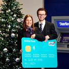 Karen Dixon and Matthew Palmer of Ulster Bank highlight the company's Get Cash and Emergency Cash services
