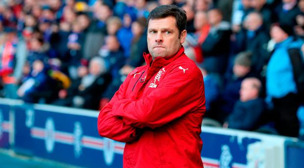 Staying on: Graeme Murty remains in interim charge after Derek McInnes snubbed Gers
