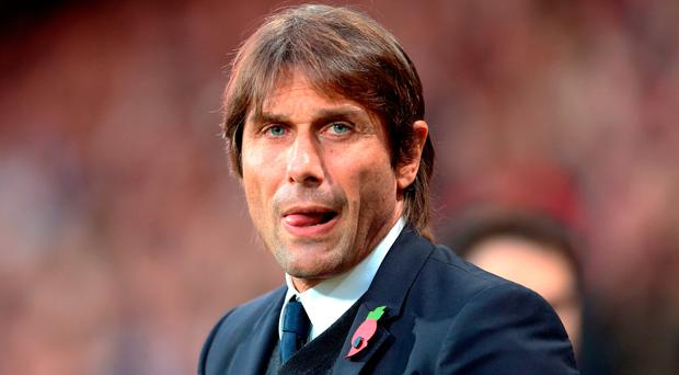 Eye on the ball: Antonio Conte is getting his priorities right