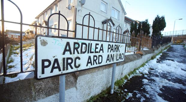 General view of Ardilea Park in Downpatrick where an accident took place in the early hours of Sunday morning. Credit: Jonathan Porter/PressEye.com