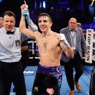 American dream: Conlan won every minute of the six-round bout in New York