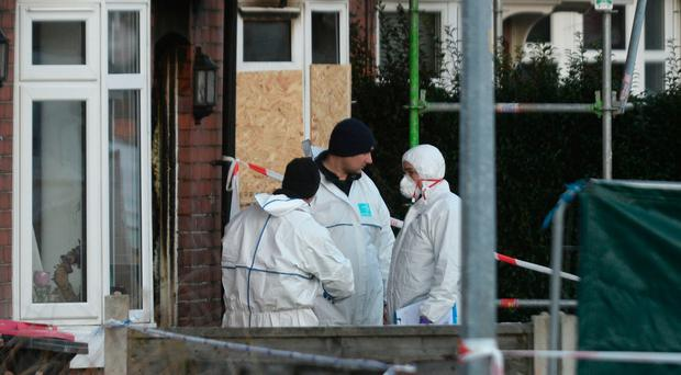 Three children die in suspected arson attack on house in Salford