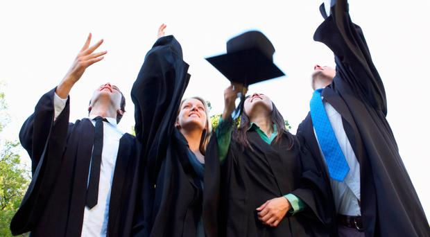 Graduates of the Ulster University will be celebrating today