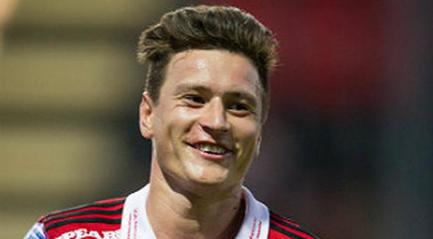 Incentive: Jamie Hopcutt is out to show Ostersund's quality