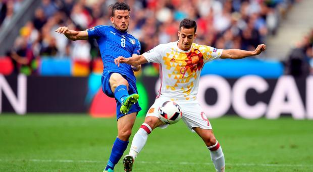 Spanish winger Lucas Vazquez could be on his way to Anfield.