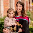 Shannon Shiver started her master's degree in human rights law and criminal justice around the same time she was due to give birth to Mollie