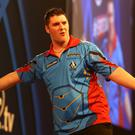 World vision: Daryl Gurney kicks off his bid on Monday