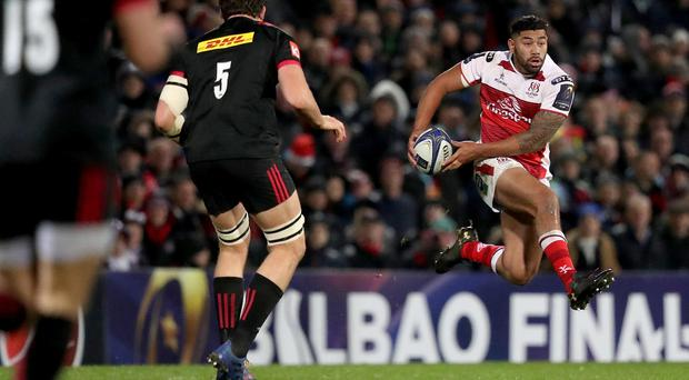 European Rugby Champions Cup Round 4, Kingspan Stadium - Ulster's Charles Piutau / Credit: INPHO/Tommy Dickson