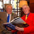 Sir William Hastings with historian and writer Clive Scoular