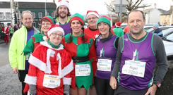 Press Eye -Belfast Telegraph Born 2 Run Forest Run Series 5k and 10k - Kibroney - 16th December 2017 Scrabo Runners