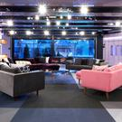 The newly decorated Celebrity Big Brother house (Channel 5/PA Wire)