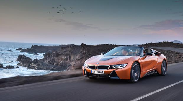 The i8 Roadster