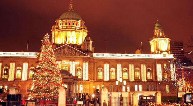 Belfast will be hoping for a brighter outlook in the year ahead