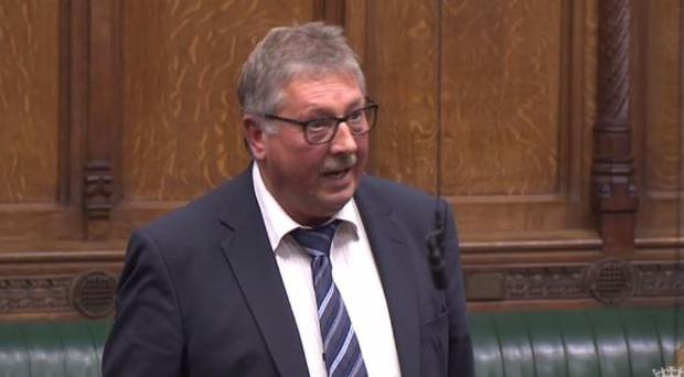 The DUP's Sammy Wilson.