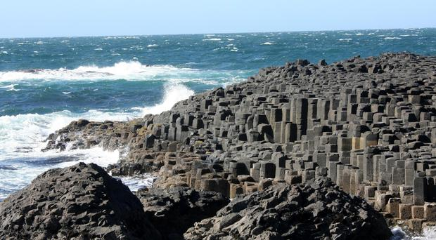 The Giant's Causeway is our top tourist attraction