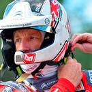 Revved up: Kris Meeke has a big year ahead with Citroen
