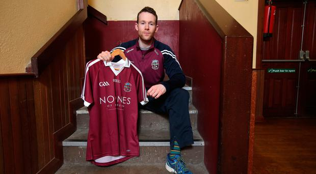 High hopes: Antoin McMullan is relishing Slaughtneil's task