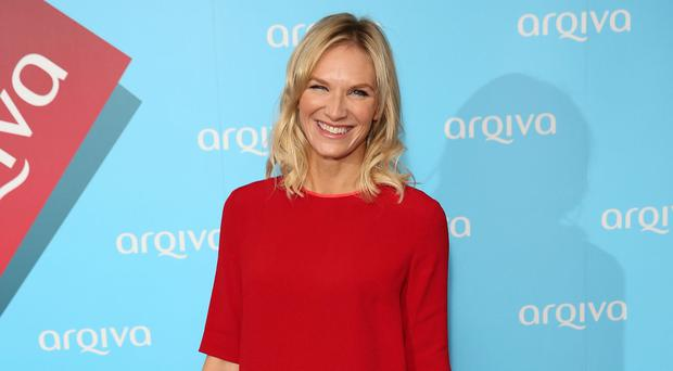Jo Whiley has learnt to distract herself from tinnitus by focusing on other noises