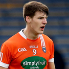 Bright spark: Niall Grimley has given Armagh reason to be optimistic after his displays for Ireland in International Rules
