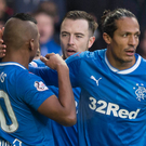 Confident: Bruno Alves (right) is adamant Rangers can turn their fortunes around