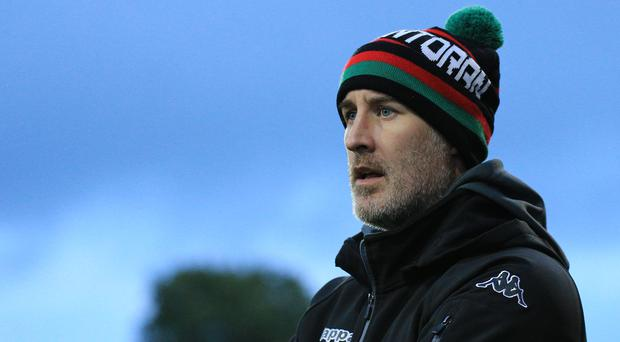 Patience: Gary Haveron says the goals will come for Glens