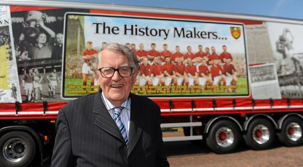 Former Down county secretary Dr Maurice Hayes, pictured in 2010 before the Iconic Event to celebrate the Down All-Ireland teams of 1960 / 61.