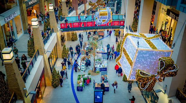 Victoria Square has said Boxing Day footfall was level with the shopping centre's figures for 2016el