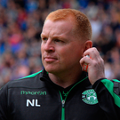 Not happy: Neil Lennon wants television replays in Scotland