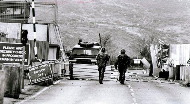 A member of the NIO considered marketing advertising space on a military checkpoint on the border