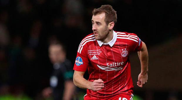 Pittodrie return: Niall McGinn