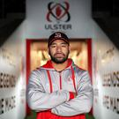 Determined: Charles Piutau at Kingspan for big match build-up