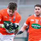 Action stations: Ethan Rafferty is targeting an Armagh starting place