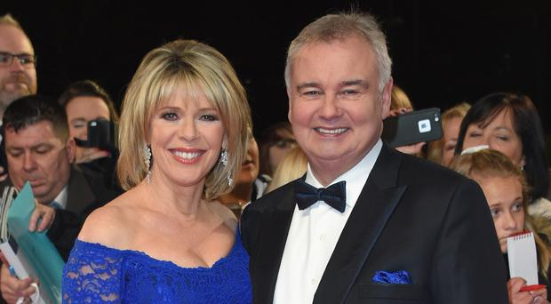 Eamonn Holmes with his wife Ruth
