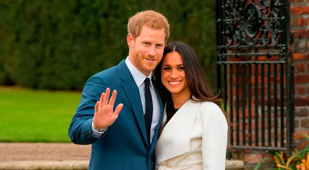 Regal pastime: Prince Harry has promised to stop smoking for Meghan Markle